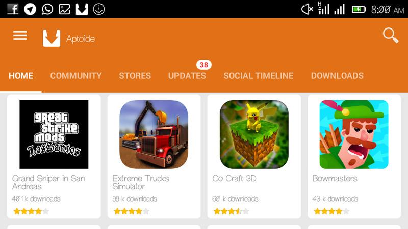 Aptoide La Alternativa Gratuita De Play Store Para Terminales Android