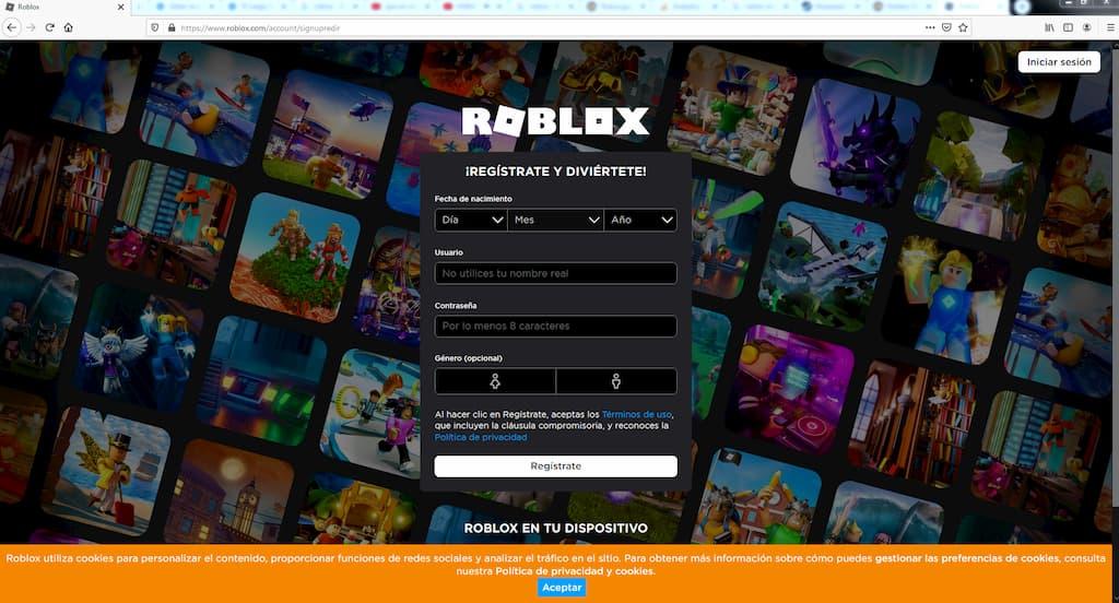 Roblox Website